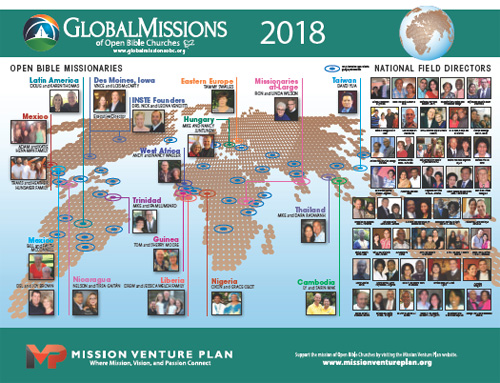 2018 Missionary Poster
